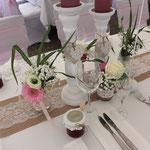 Gästegeschenke, Tischdekoration vintage,