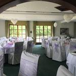 Raumdekoration, Hochzeit flieder, lila
