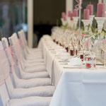 Raumdekoration, Vintage, Hochzeitstafel