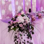 Hochzeitsblumen, Hochzeitsdekoration, Tischdekoration, Hochzeitsdekoverleih
