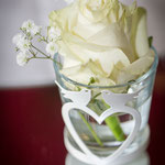Blumenvase mit Rose, www.paganettis.de