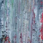 19/13  -  140 x 100 cm  -  Buntes Grau  -  Öl/Leinwand