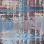 49/13  -  70 x 60 cm - Spiegelung 6  -   Öl/Leinwand