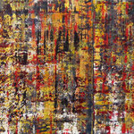 62/13       100 x 200 cm    [geteilt 100 x 120 cm / 100 x 80 cm]      o.T.       Acryl/Leinwand