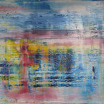 17/14  -  150 x 200 cm  -   Rot, Gelb, Blau  -  Öl/Leinwand