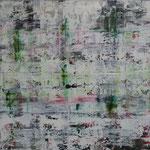 34/13  -  90 x 120 cm  -  Schwarzes Loch  -  Öl/Leinwand