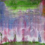 28/12  -  80 x 100 cm  -  Vorhang  -  Öl/Leinwand