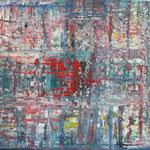11/15 -  80x100cm  - Rot,Gelb,Grün,Blau 4  - Öl/ Leinwand