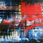 20/14  -  150 x 200 cm  -  Rot  -  Öl/Leinwand