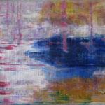 23/12  -  40 x 50 cm  -  Pool  -  Öl/Hartfaser