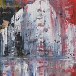 31/12  -  50 x 40 cm  -  Eisberg  -  Öl/Hartfaser