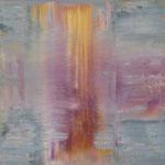 4/13  -  80 x 80 cm  -  Spiegelung 3  -  Öl/Leinwand