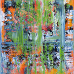 52/13     70 x 50 cm     Ohne Titel     Öl/Leinwand