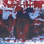 25/12  -  24,5 x 97,5 cm  -  Konferenz  -  Öl/Hartfaser