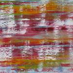 15/12  -  80 x 100 cm  -  Schneeflocken  -  Öl/Leinwand
