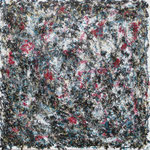 25-15 , 70 x 70 cm,  Jackson 6, Öl-Acryl-Lack-Leinwand
