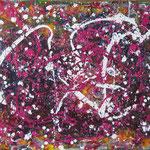 8/15 - 50 x 60 cm - Jackson 3 - Acryl/Lack/Öl auf Leinwand