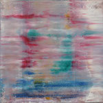 30/12  -  100 x 100 cm  -  Spiegelung 1  -  Öl/Leinwand
