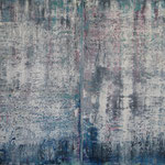 10/15  - 150 x 200 cm (zweiteilig) - Changing the Blue - Öl auf Leinwand