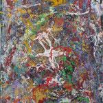 24-15  -  60 x 80 cm  -   Storchentanz  -   Acryl-Leinwand