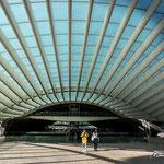 Lissabon (P), trainstation Parque das Nações