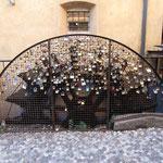 Liebesschlösser in Borgetto