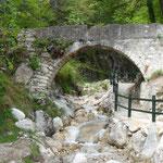 Wanderweg in die Berge Limone sul Garda