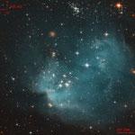 NGC 602, Gilles