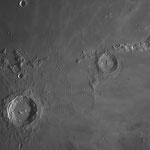 Région de Copernic, cratère dans lequel devait se poser Apollo 20... C14 + ASI 178 + IR 742, 14 février, Lionel