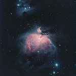 M42, 20x1s Ha, 10x2s, 10x15s, Canon 7D sur C14 hyperstar, Jean-Paul