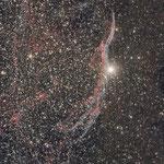 NGC6960, les dentelles Ouest, 30x1 min, C14 hyperstar, 14 juillet, Lionel