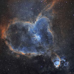 IC 1805, la nébuleuse du coeur en SH0 (28, 24 et 27 x 10 min) les 15, 16 et 17 juillet 2016, Nicolas