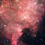 NGC7000, North America, 33x4min, Canon 1000D, 11 et 12 août, Jean-François