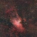 M16, nébuleuse de l'Aigle, 30x1min, C14 hyperstar, 15 juillet, Lionel