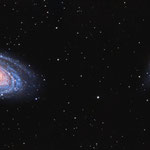 "M81 et M82, Meade 8"" F/D=6,3, 21 et 22 avril 2015, Nicolas"