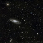 M106, C14 hyperstar + QHY8L sur EQ8, 18x5min, 22 avril 2015, Lionel