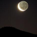 Lumière cendrée sur la Lune, 10 février 2016, Chili, Lionel