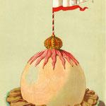 """""""Kaiser Wilhelm-Bombe"""": Entwurf aus einem Musterbuch für Süßspeisen"""