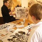 Workshop mit Chen Jianghong im Museum Haus Löwenberg