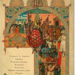 Krönungsmenü des Zaren Alexander III. in Moskau, 1883