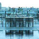 Paris, auf dem Dach des Centre Pompidou
