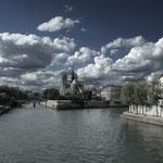 Paris, Île de la Cité und Notre Dame