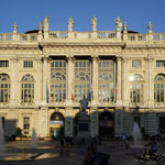 Turin, Piazza Castello mit Palazzo Madama