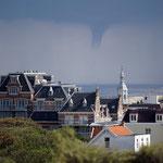 Windhose über Domburg/ Holland