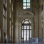 Turin, Palazzo Madama, Treppenhaus