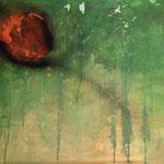 GEBORGEN, Acryl, 80x70cm, 2015