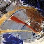 Freude , Collage 100x100 cm, 2013
