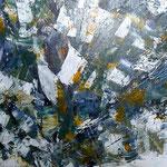 Mein Olivenbaum, Acryl, 60x30 cm , 2011