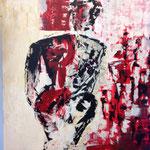 SPIEGELBILD, Acryl, 100x100cm, 2016