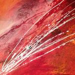Rote Kraft , 60 x70 cm